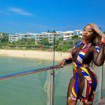 Victoria Kimani Dazzles In Sheer African Print