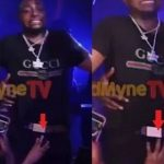 Female Fan Grabs Davido's Manhood On Stage At One Lagos Fiesta