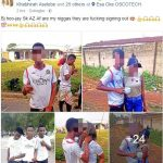 Guys Kiss & Grab Boobs Of Osun College Of Education Student As They Graduate