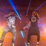 Davido And Wizkid Jumping On The Stage In London (Photos)