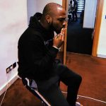Davido Pictured Smoking Weed With Seriousness (Photo)
