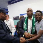 Nigerian Senators Meet With Ahmed Musa After World Cup Match In Russia. Photos
