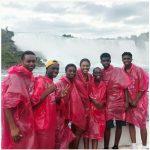 Actress Omoni Oboli, Her Husband And Children Rock Nylon In Canada