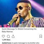 Daddy Freeze To Shola Ogudu, Wizkid's Baby Mama, 'You Should Have Used Postinor'
