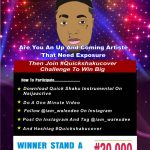 Walex Dee Quick Shaku Cover Competition