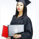 Lady Strips Unclad To Celebrate Graduation From School – photos Go Viral