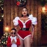 Celebrities light up social media with glamorous Christmas pictures