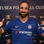 Chelsea Complete Loan Move For Juventus Striker, Gonzalo Higuain