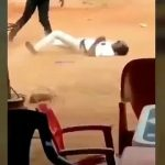 """Nigeria police killed an unarmed youth in Benin City Edo state """"Say no to police brutality"""" @mpipboytohbad"""