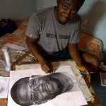 Kevin Hart Set To Patronize Nigerian Pencil Artist Who Drew A Portrait Of Him