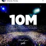 Davido Hits 10 Million Followers On Instagram