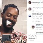 Adekunle Gold Accused Of Helping Yahoo Boys Edit Their Document