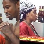 #BBNAIJA: Drunk Mercy Flirts With Ike (Video)