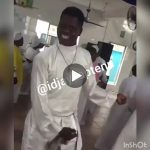 Video Of A Man Dancing Soapy in the Church