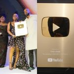 Youtube Presents Yemi Alade A Gold Creator Award For Surpassing 1M Subscribers