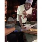 Davido Meets Chef Nusret In Greece, Eats 24karat Gold Meat