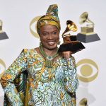 Angelique Kidjo Speaks Yoruba As She Visits Lagos Studio And Meets With Asa