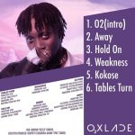 MUSIC: Oxlade Ft. Moelogo – Tables Turn