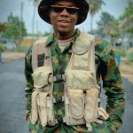 Nigerian Navy Arrests Comedian, Cute Abiola Over Viral Army Uniform Picture He Posted On His Birthday
