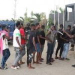 COVID-19: Task Force Arrests 56 Youths At Surprise Party In Lagos
