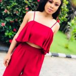 Nina Thanks God After Surviving A Near Plane Mishap On Her Way To Owerri