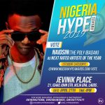 Vote For Naidsin As The Next Rated Artiste Of The Year On Nigeria Hype Award
