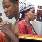 #BBNAIJA: Drunk Mercy Flirts With Ike (Video)