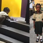 Ondo School Girl Uses ATM Light To Solve Homework, Gets FCMB's Support [Photos]