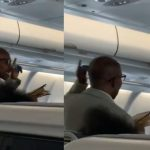 Nigerian Pastor Spotted Preaching Inside Plane [Video]